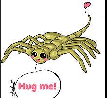 Hug the Facehugger by Arachan
