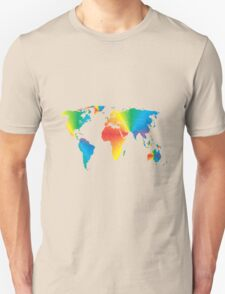 Map of the World T-Shirt