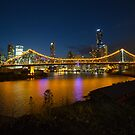 Story Bridge & Brisbane by Andrew Durick
