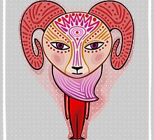 aries zodiac sign by nuanz