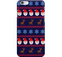 X-Mas Pixels iPhone Case/Skin