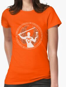 Raziel & The Mortal Instruments (The Shadowhunter's Seal) Womens Fitted T-Shirt