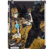 blue flowers iPad Case/Skin