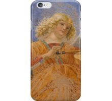 angel playing music iPhone Case/Skin