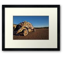 Outback Art Gallery, Silverton NSW Framed Print