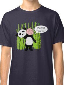 I will kick a Panda in the Bollocks - Karl Pilkington T Shirt Classic T-Shirt