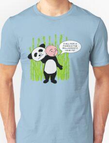 I will kick a Panda in the Bollocks - Karl Pilkington T Shirt Unisex T-Shirt
