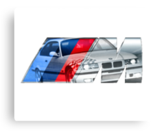 Bmw E36 M3 overlay Canvas Print
