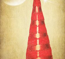 Red Christmas Tree by Denise Abé
