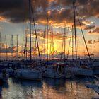 sunset in Jaffa by malenaromano