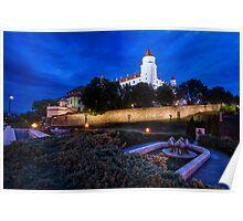 Bratislava Castle Poster