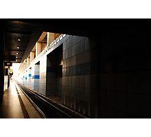 train station  Photographic Print