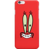Mr Krabs iPhone Case/Skin