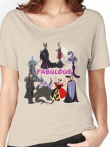 Fab Villains Women's Relaxed Fit T-Shirt