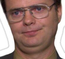 Dwight Schrute - False, I Do Not Miss Him Sticker