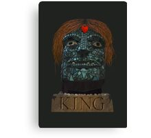 OUR KING Canvas Print