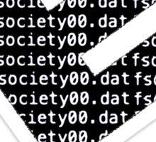 E Corp - Fsociety Sticker