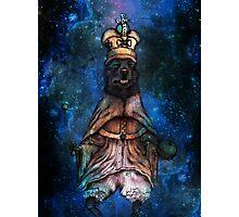 Cosmic Royal Corgi Photographic Print