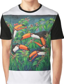 """Toucan Tea"" Graphic T-Shirt"
