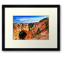 Natural Bridge at Bryce Canyon Framed Print