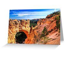Natural Bridge at Bryce Canyon Greeting Card