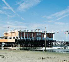 Daytona Beach Pier by Frankie Pereira