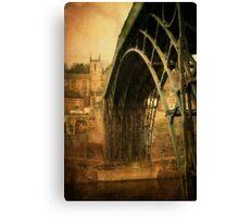 Iron Bridge Telford Canvas Print