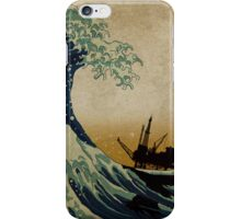 The wave today iPhone Case/Skin