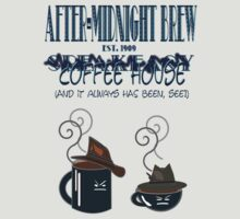 After Midnight Brew Coffee Shop Speakeasy by Weber Consulting