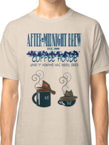 After Midnight Brew Coffee Shop Speakeasy Classic T-Shirt