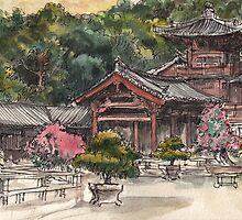 Chi Lin Nunnery by Adolfo Arranz