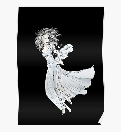 Spectral Lady Poster