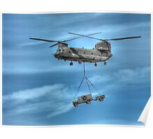 Boeing CH-47 Chinook Poster