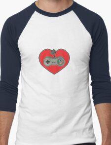 16-Bit Romance Men's Baseball ¾ T-Shirt