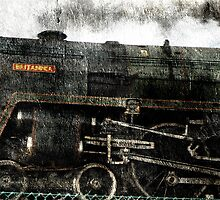"steam locomotive 'Britannia"" by dmacwill"