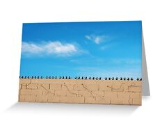 Prickly Wall Greeting Card