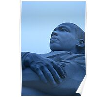 A Blue Martin Luther King, Jr. - 1 Poster