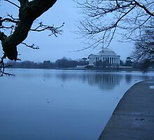 A Blue Morning For Jefferson by Cora Wandel