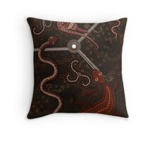 3 Billabongs Throw Pillow