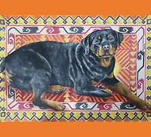 Rottweiler by M. E.  Bilisnansky McMorrow