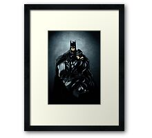 Gotham's Copule Framed Print