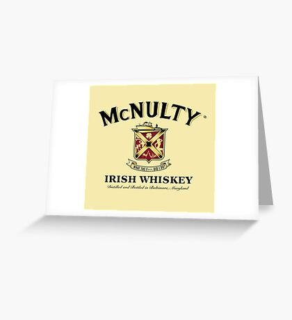 McNulty Irish Whiskey Greeting Card
