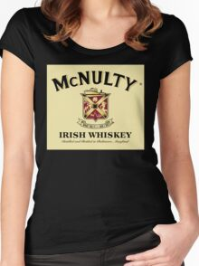 McNulty Irish Whiskey Women's Fitted Scoop T-Shirt