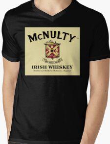 McNulty Irish Whiskey Mens V-Neck T-Shirt