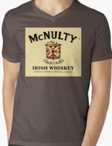 McNulty Irish Whiskey Mens V-Neck T-Shirt