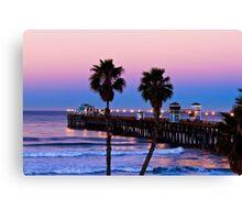 Oceanside California Pier at Dawn Canvas Print