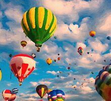 Balloon Ride by Adam Asar