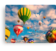Balloon Ride Canvas Print