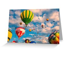 Balloon Ride Greeting Card