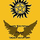 Supernatural Birthday by Mieke Vleeracker